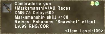 Camaraderie gun