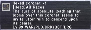 Hexed Coronet -1