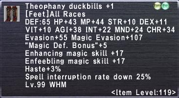 Theophany Duckbills Plus 1