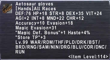 Aetosaur Gloves