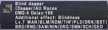 Blind Dagger