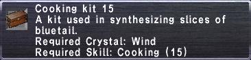 Cooking Kit 15