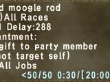 Nomad Moogle Rod