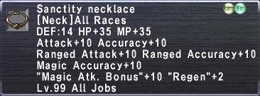 Sanctity Necklace