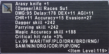 Arasy Knife Plus 1