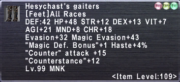 Hesychast's Gaiters