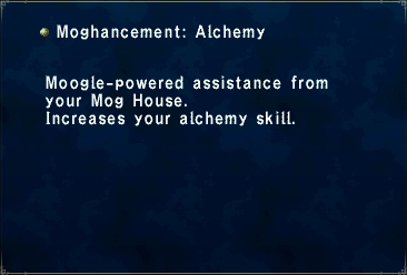 Moghancement Alchemy Skill