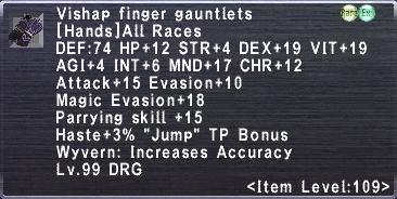 Vishap Finger Gauntlets
