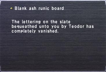 Blank Ash Runic Board