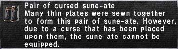 Cursed Sune-Ate