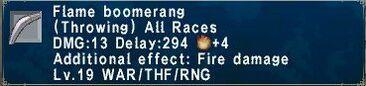 Flameboomerang