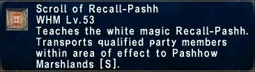 Recall-Pashh