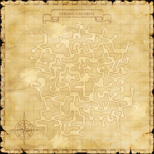 Cirdas Caverns Map 1 (base)