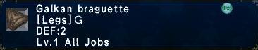 Galkan braguette