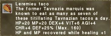Leremieu taco
