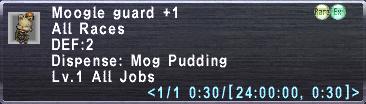 Moogle Guard +1