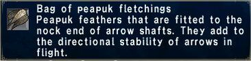 Peapuk Fletchings