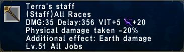 Terra's Staff