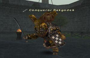 Conqueror Bakgodek