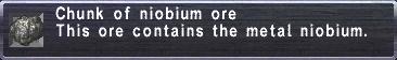 Niobium Ore