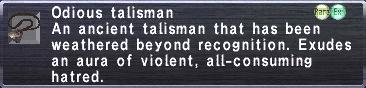 Odious Talisman