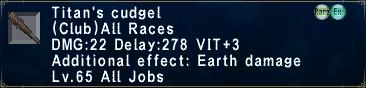 Titan's Cudgel
