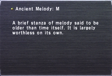 Ancient Melody M
