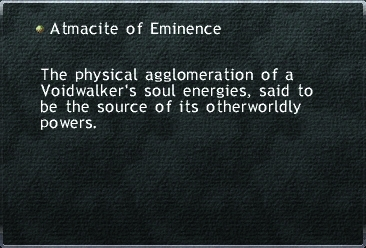Atmacite of Eminence