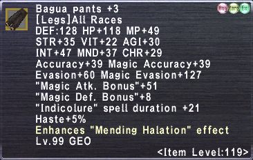 Bagua Pants +3