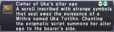 Cipher Uka