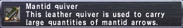 Mantid Quiver