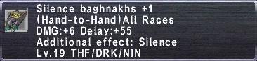 Silence baghnakhs p1