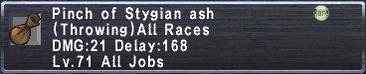 Stygian-ash