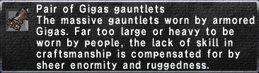 Gigas Gauntlets