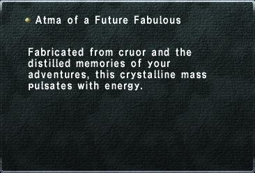 Atma of a Future Fabulous