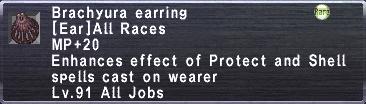 Brachyura Earring