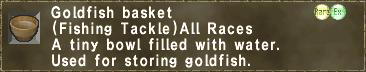 Goldfish basket