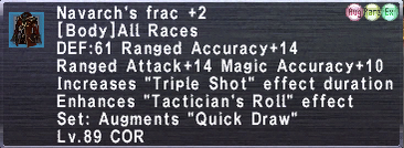Navarch's Frac +2