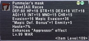 Pummeler's mask