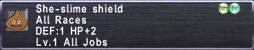 She-slime shield