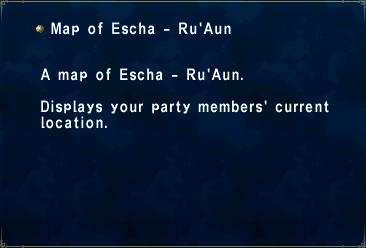 Map of escha - ru'aun