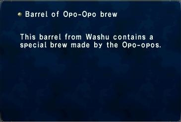 Barrel of Opo-Opo Brew