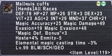 Mallquis Cuffs