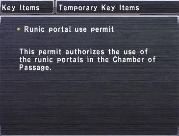 Runic Portal Use Permit
