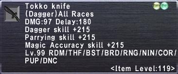 Tokko Knife