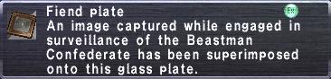 Fiend Plate