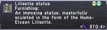 Lilisette Statue