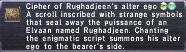 Cipher Rughadjeen