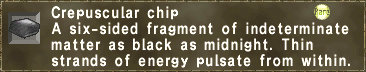 Crepuscular chip