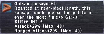 Galkan Sausage +2